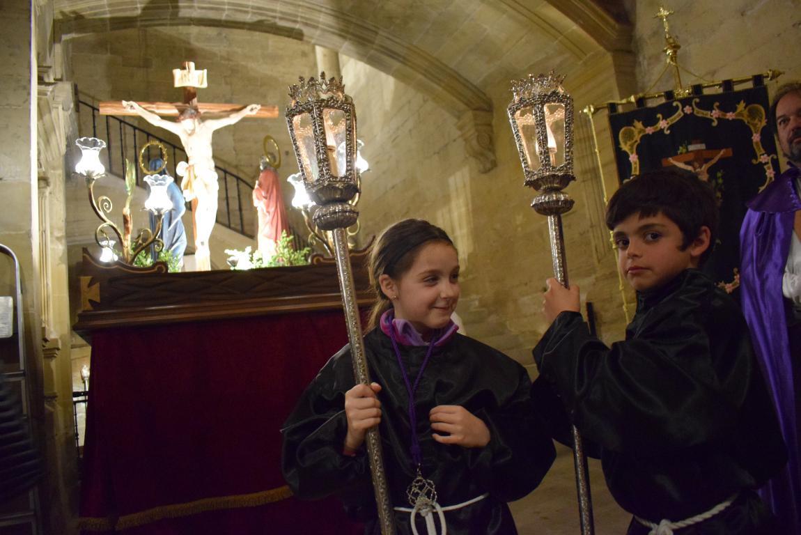 La lluvia obliga a trasladar la procesión de Jueves Santo a la parroquia 21