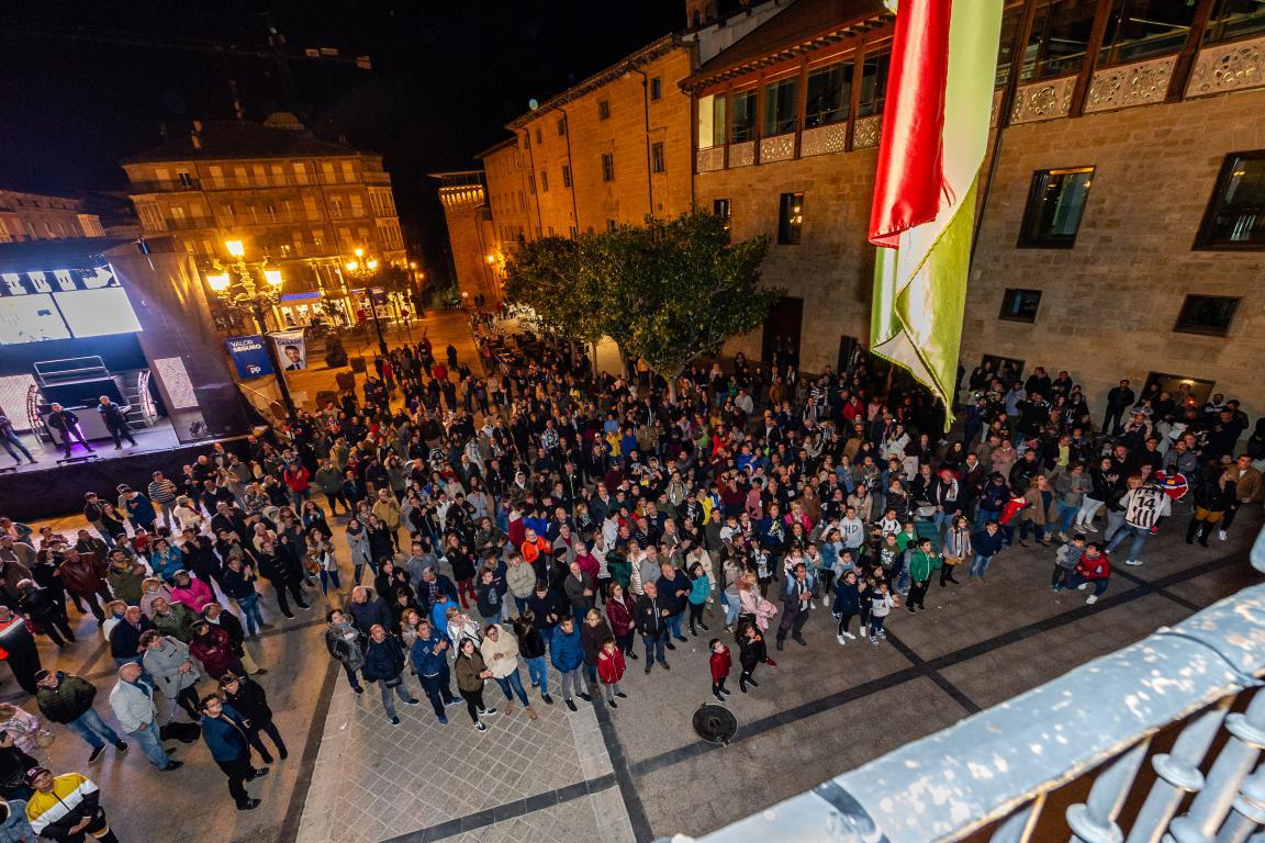 Las imágenes de la celebración del campeonato de liga del Haro Deportivo 7