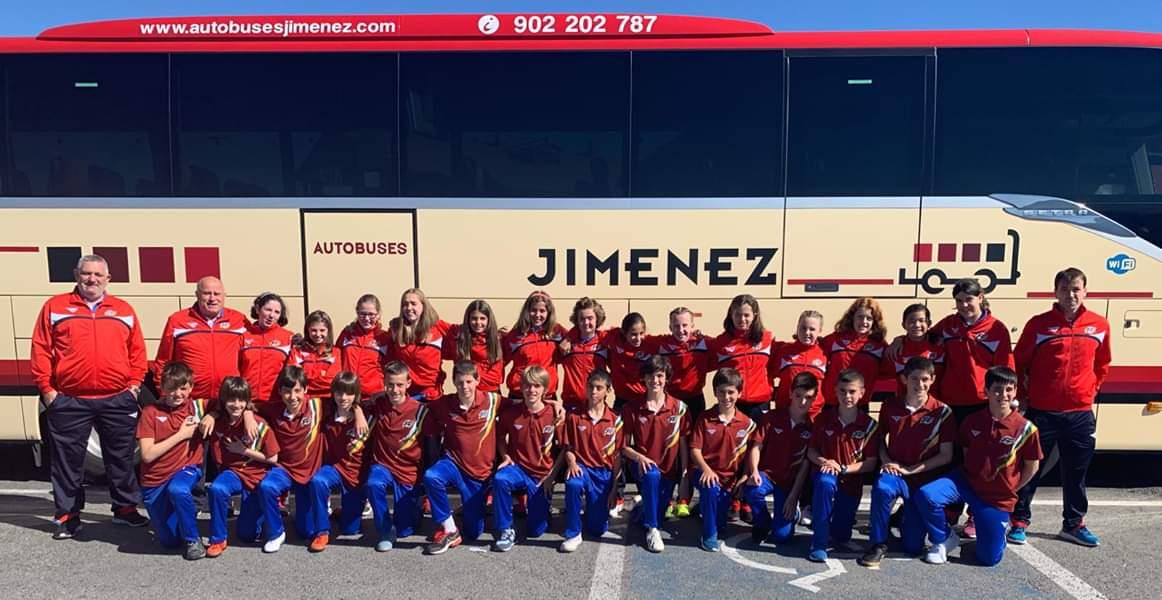Los jarreros Raúl Pérez y Álvaro Martín, a Valencia con la Selección Riojana de Fútbol Sub-12 1