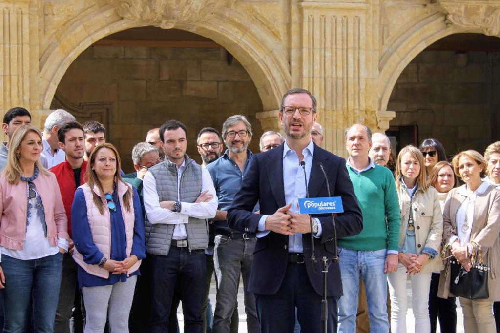 Maroto presenta oficialmente a Daniel García como candidato a la Alcaldía de Labastida 1