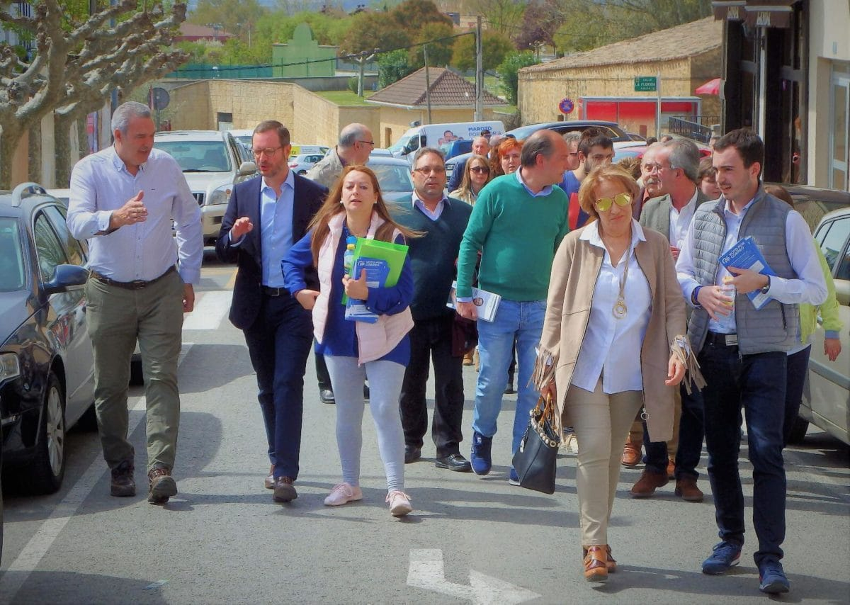 Maroto presenta oficialmente a Daniel García como candidato a la Alcaldía de Labastida 2