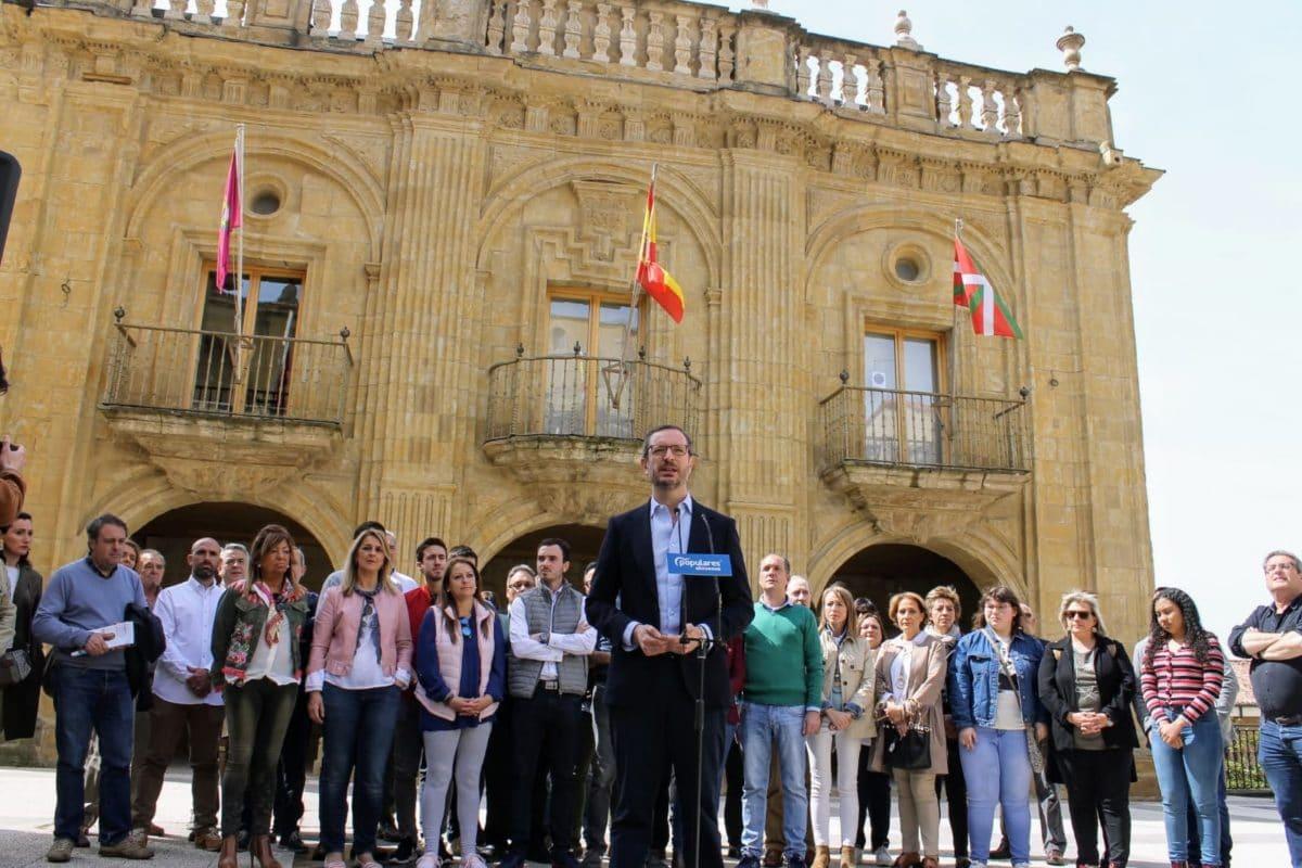 Maroto presenta oficialmente a Daniel García como candidato a la Alcaldía de Labastida 4