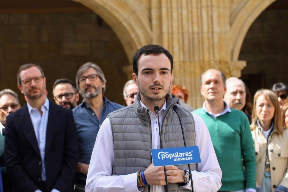 Maroto presenta oficialmente a Daniel García como candidato a la Alcaldía de Labastida 5