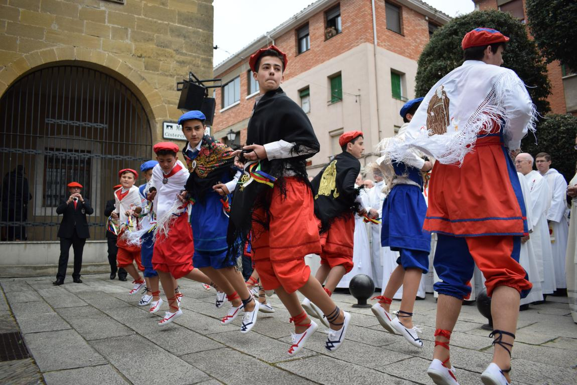 Multitudinaria apertura del Año Jubilar en Santo Domingo de la Calzada 2