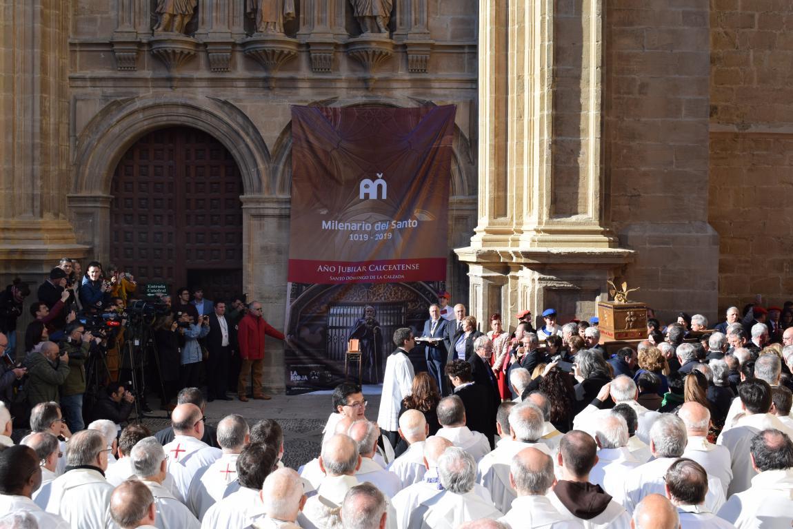 Multitudinaria apertura del Año Jubilar en Santo Domingo de la Calzada 46