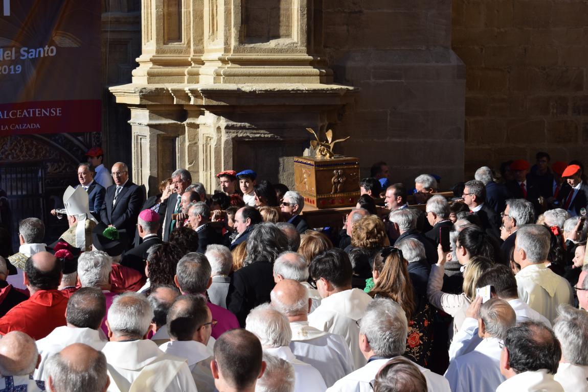 Multitudinaria apertura del Año Jubilar en Santo Domingo de la Calzada 48