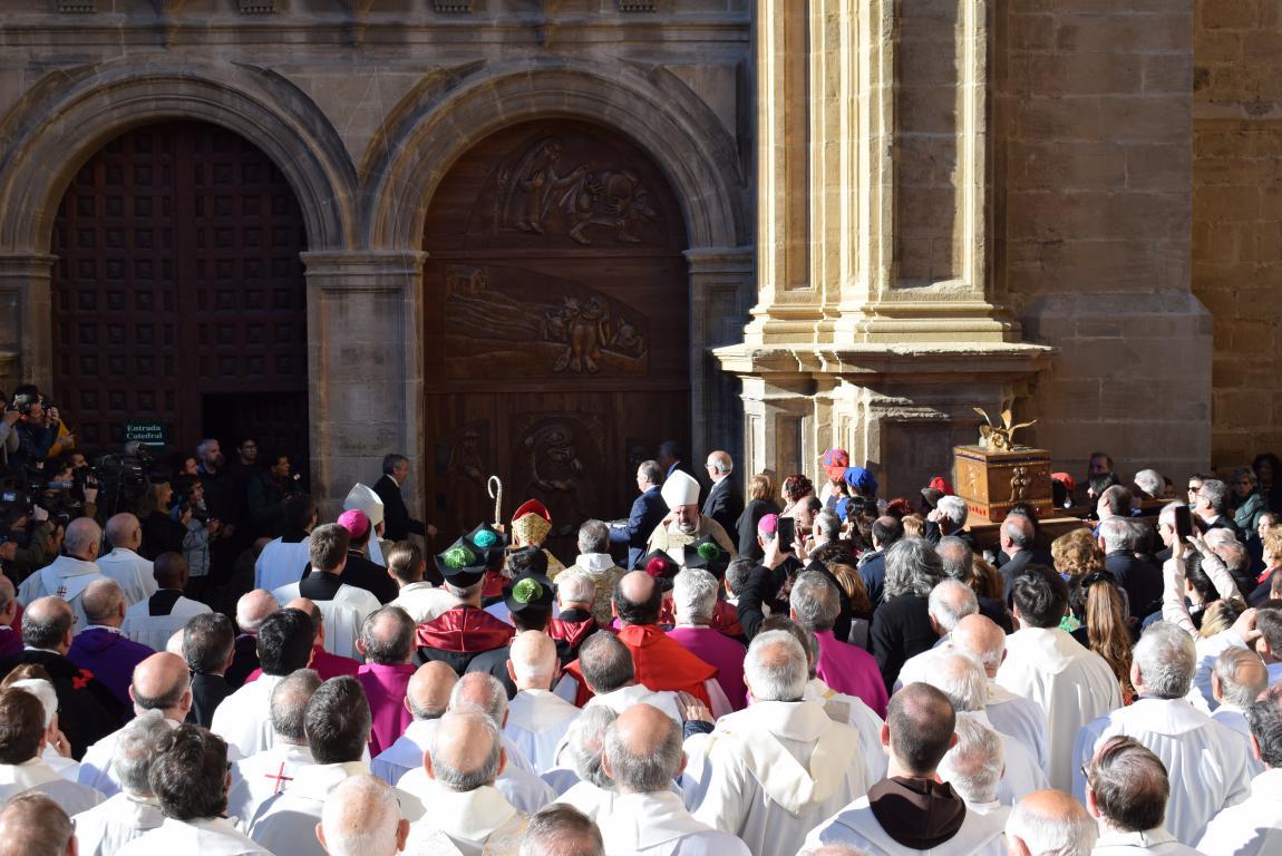 Multitudinaria apertura del Año Jubilar en Santo Domingo de la Calzada 50