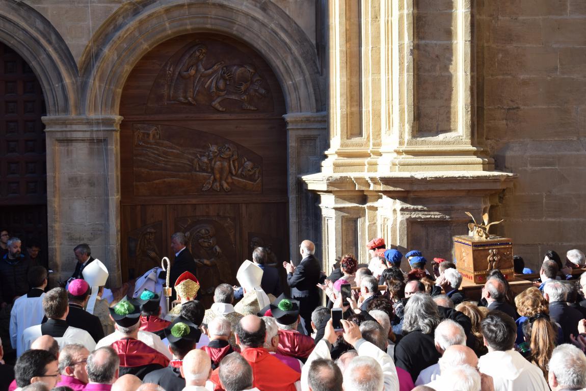 Multitudinaria apertura del Año Jubilar en Santo Domingo de la Calzada 51