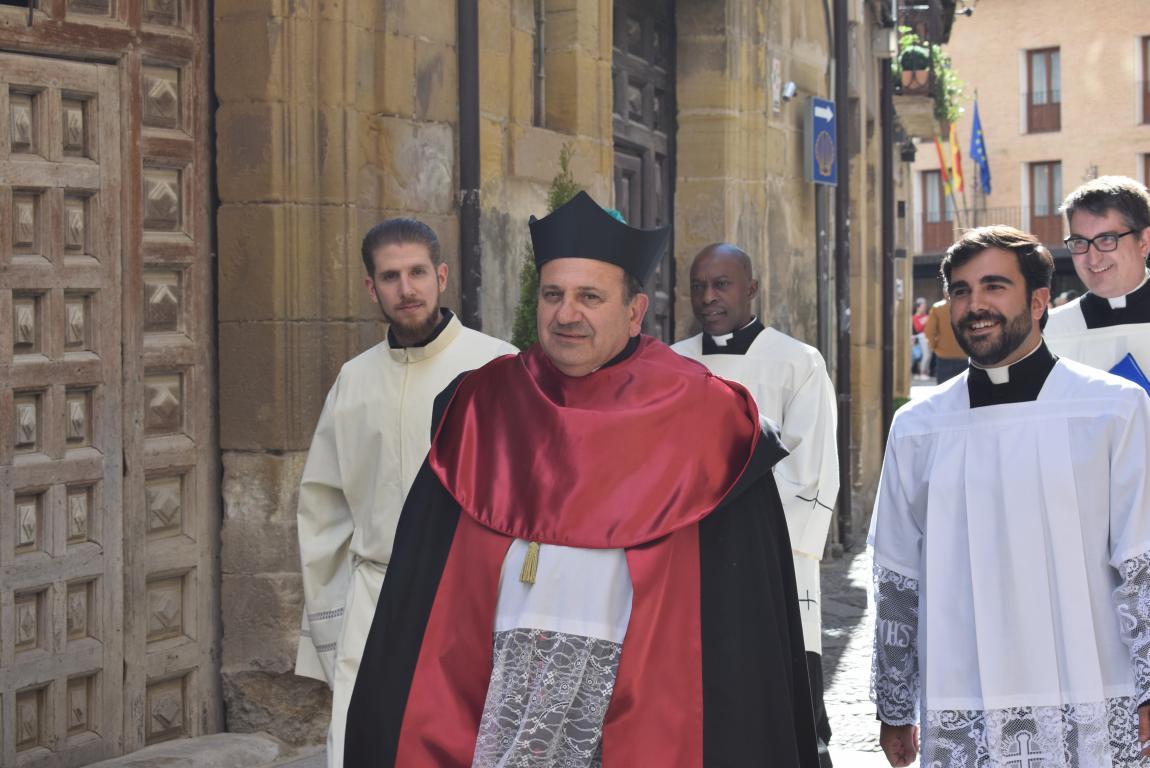 Multitudinaria apertura del Año Jubilar en Santo Domingo de la Calzada 7