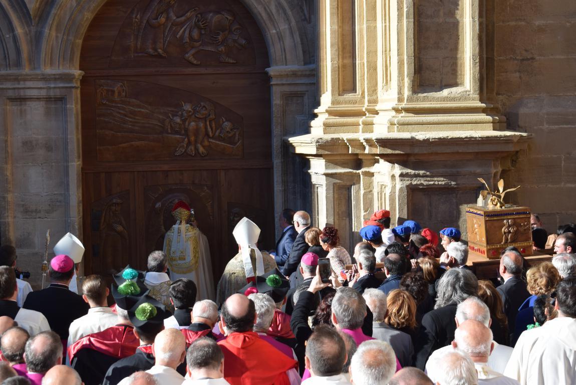 Multitudinaria apertura del Año Jubilar en Santo Domingo de la Calzada 54