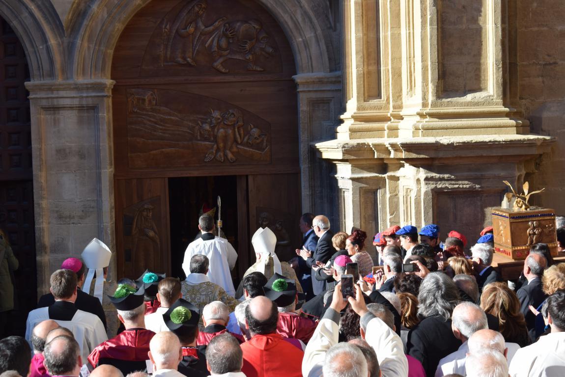 Multitudinaria apertura del Año Jubilar en Santo Domingo de la Calzada 55