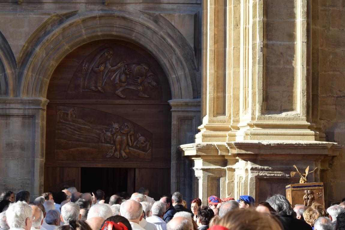 Multitudinaria apertura del Año Jubilar en Santo Domingo de la Calzada 58