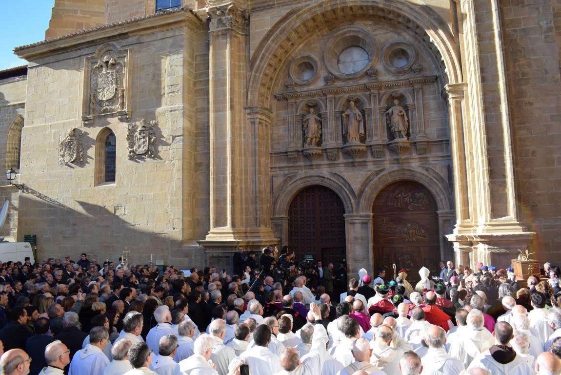 Multitudinaria apertura del Año Jubilar en Santo Domingo de la Calzada 3