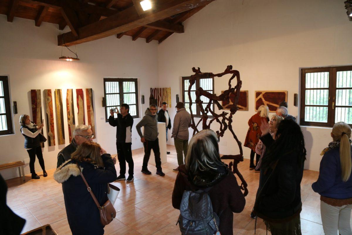 Sajazarra acoge hasta el domingo la exposición 'Madera en transición' 1