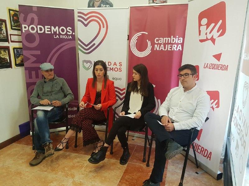 Se presenta Cambia Nájera, la confluencia de Unicas Podemos, IU y Equo para las municipales 1