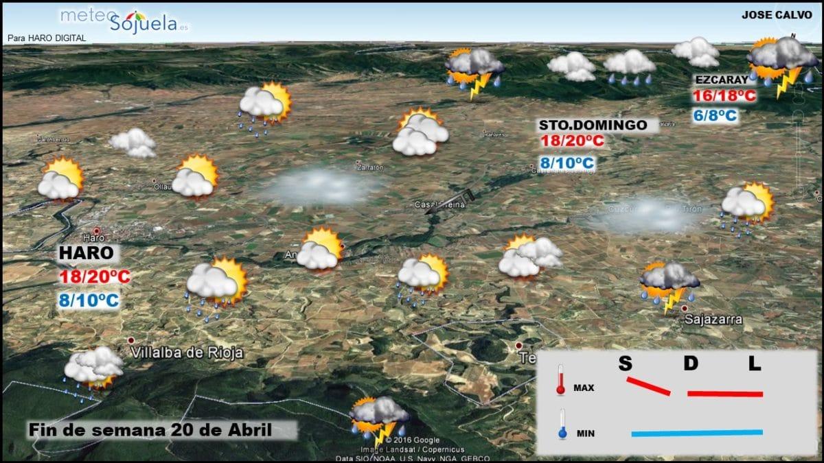 Tiempo revuelto en los próximos días en La Rioja Alta 3