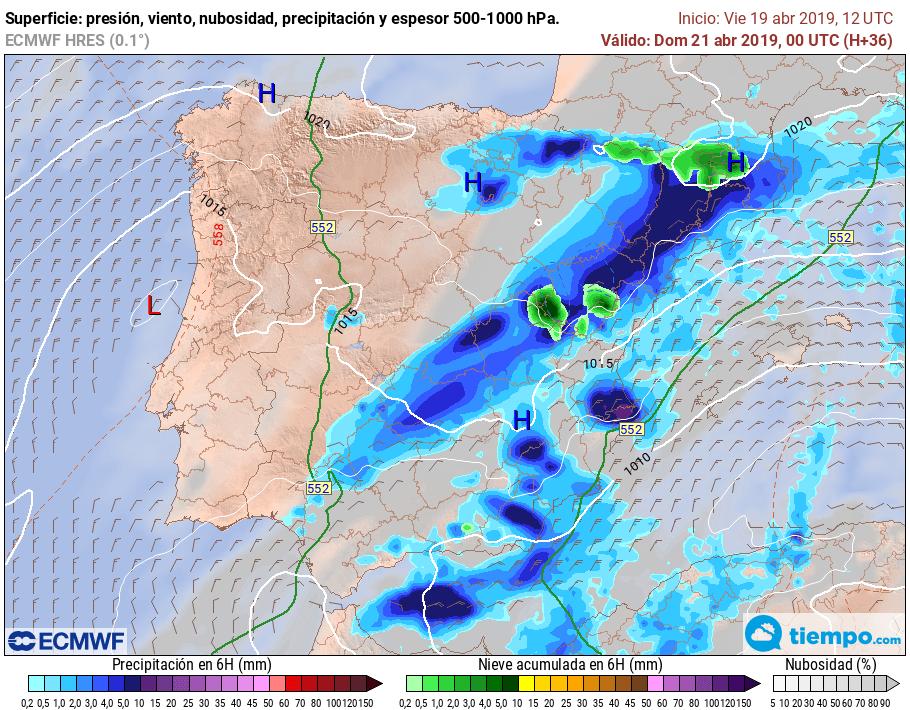 Tiempo revuelto en los próximos días en La Rioja Alta 1