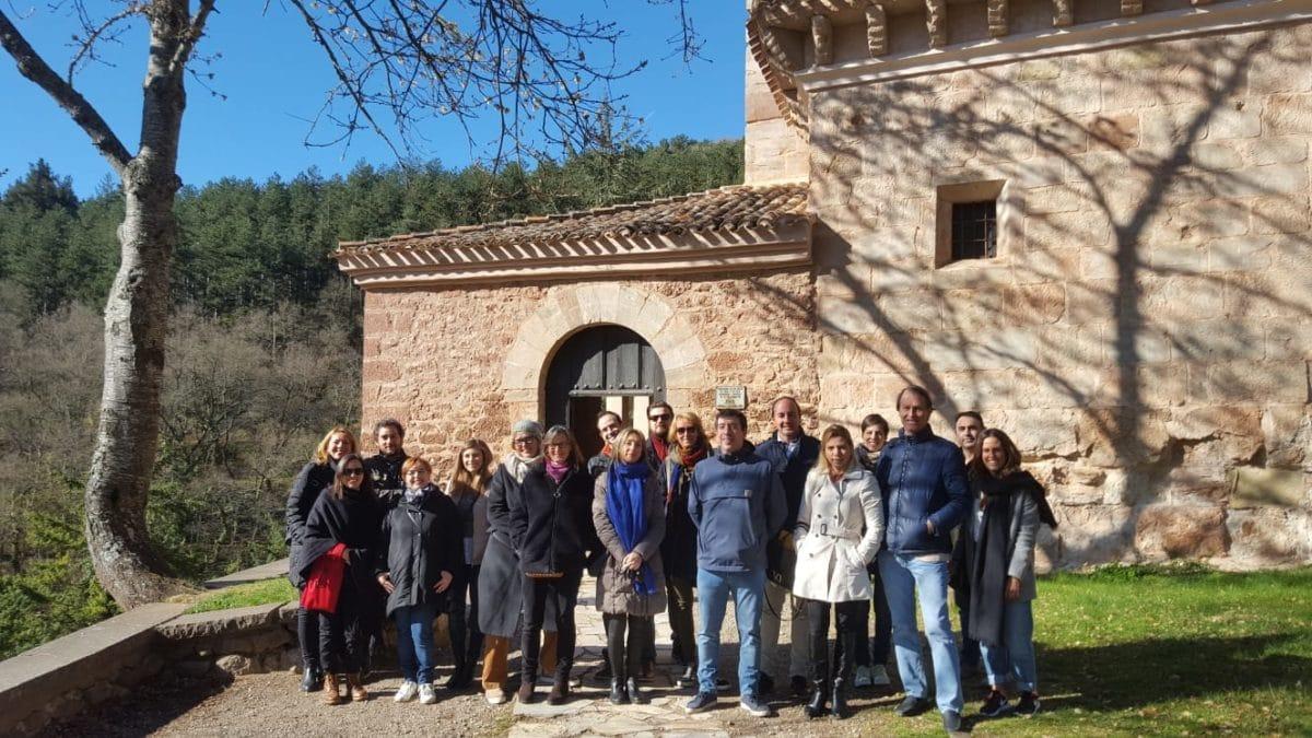 Turoperadores y periodistas visitan La Rioja y conocen los atractivos del Año Jubilar Calceatense 1