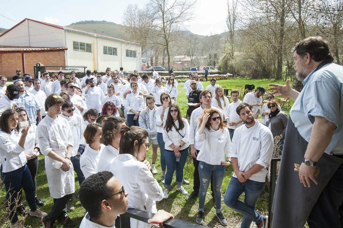 Un centenar de alumnos del Basque Culinary Center volverá a disfrutar de La Rioja 1