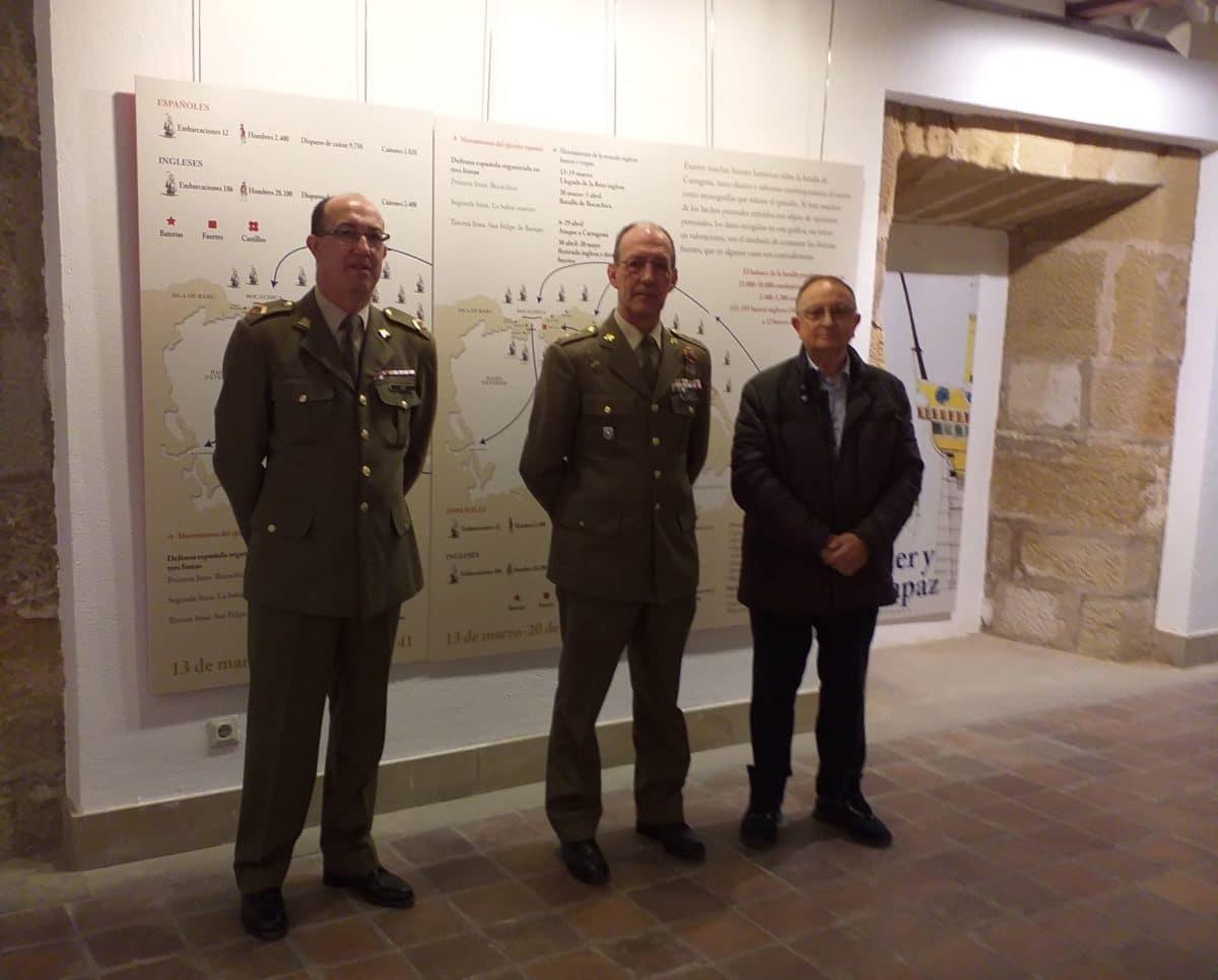 Una exposición en Haro recorre los hitos del militar español Blas de Lezo 2