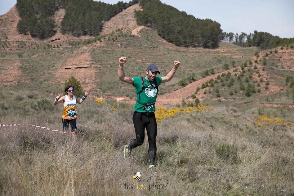 Uxua Barandiaran y Javier González, ganadores de la Nájera Xtrem 2019 3