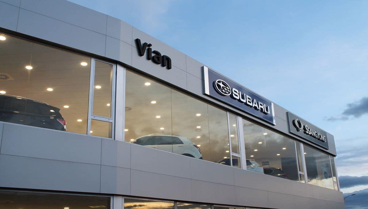 Vian Automobile, el nuevo concesionario oficial Subaru y SsanYong para La Rioja 4