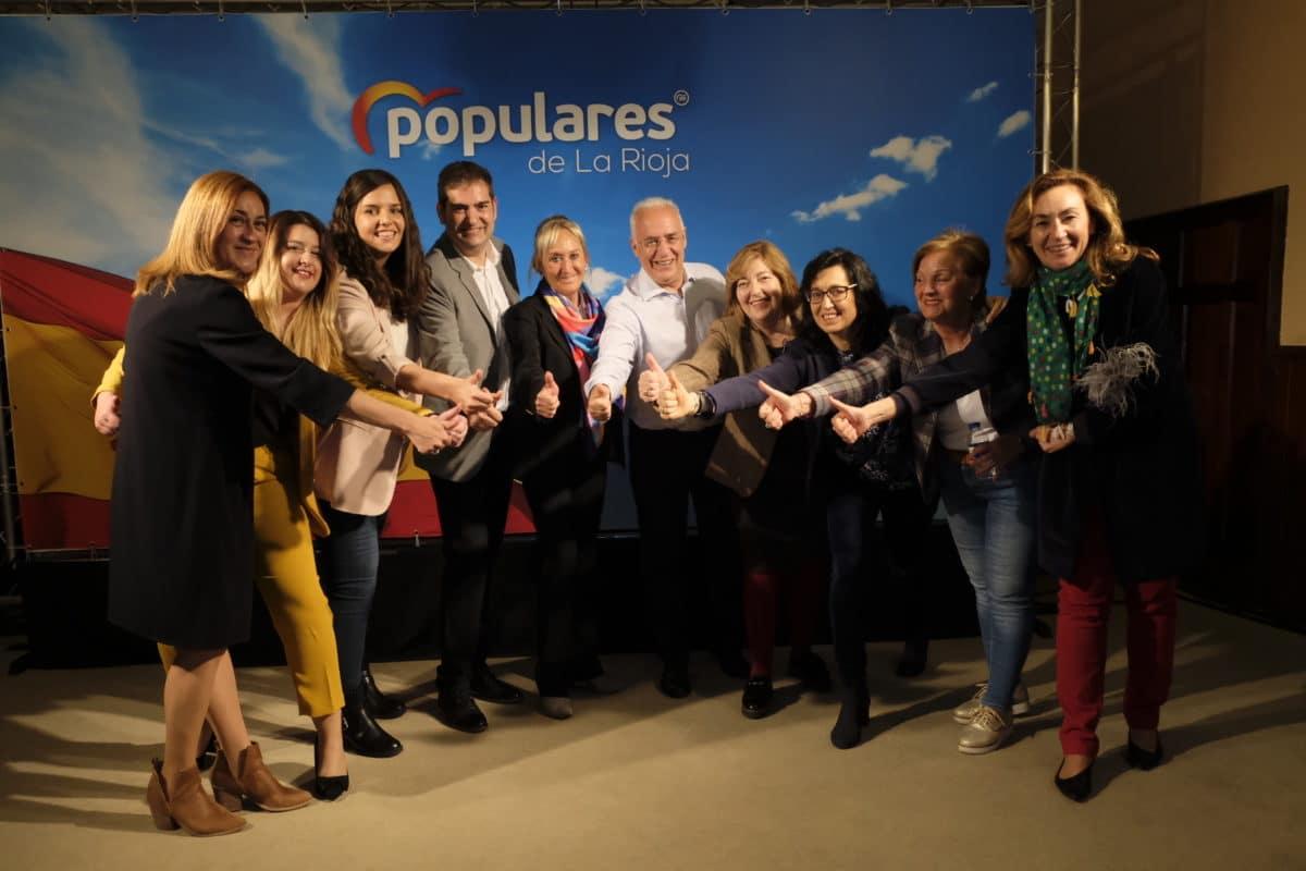 Ceniceros destaca en la presentación de la candidatura a la Alcaldía de Santo Domingo los más de 50 millones de euros invertidos en la comarca 3