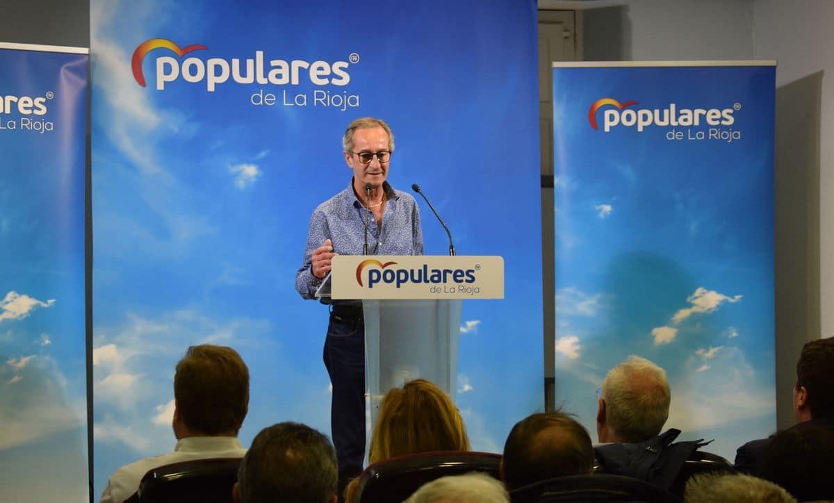 Ceniceros presenta oficialmente en Haro la candidatura de Alberto Olarte al Ayuntamiento 1
