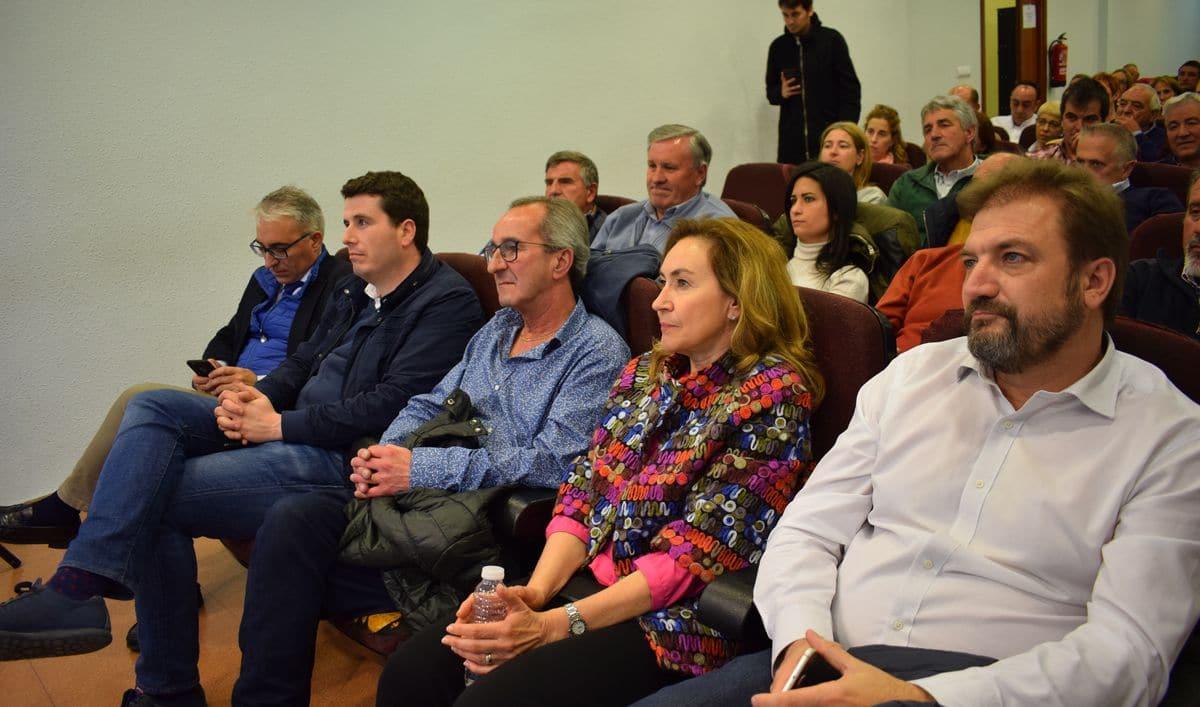 Ceniceros presenta oficialmente en Haro la candidatura de Alberto Olarte al Ayuntamiento 2