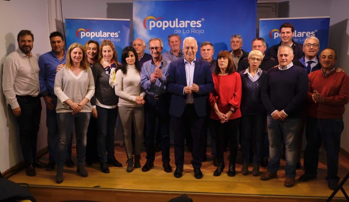 Ceniceros presenta oficialmente en Haro la candidatura de Alberto Olarte al Ayuntamiento 7