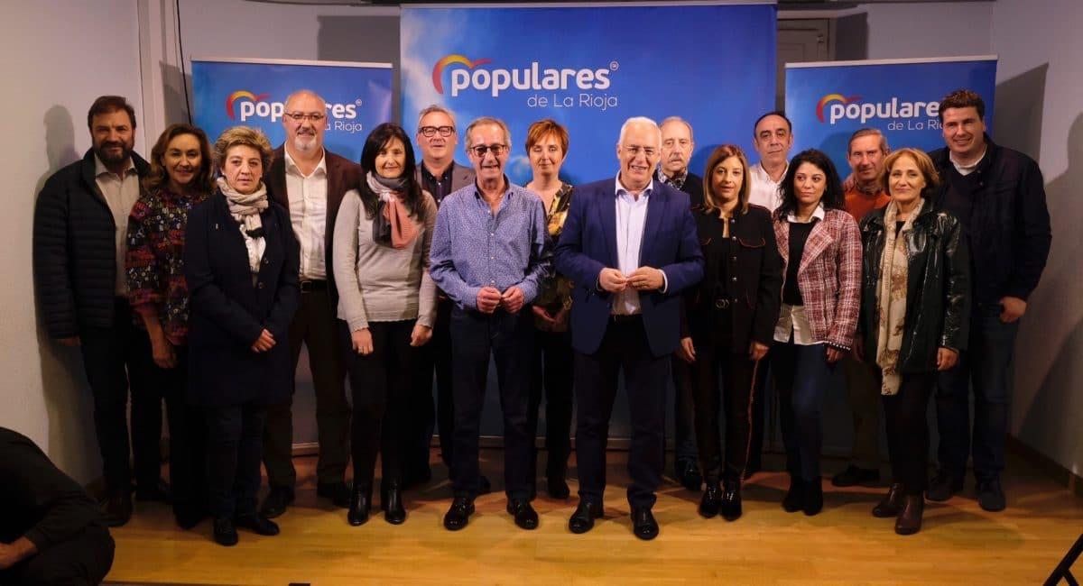 Ceniceros presenta oficialmente en Haro la candidatura de Alberto Olarte al Ayuntamiento 8