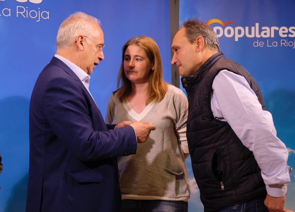 Ceniceros presenta oficialmente en Haro la candidatura de Alberto Olarte al Ayuntamiento 9