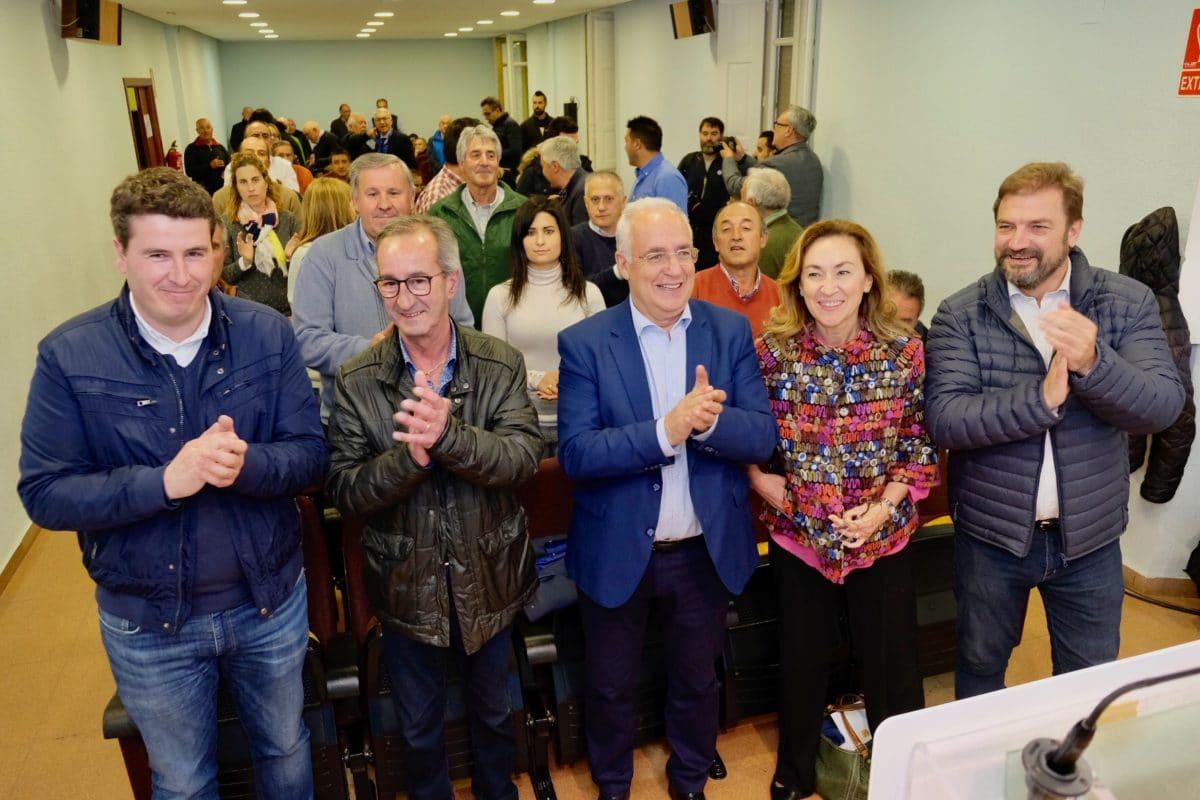 Ceniceros presenta oficialmente en Haro la candidatura de Alberto Olarte al Ayuntamiento 10