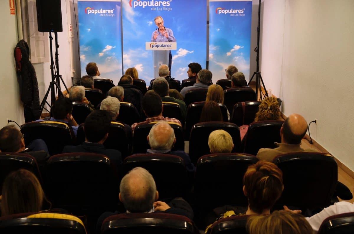 Ceniceros presenta oficialmente en Haro la candidatura de Alberto Olarte al Ayuntamiento 4