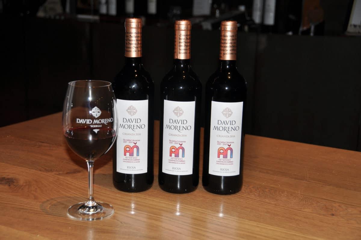 David Moreno Crianza 2016, el vino del Año Jubilar Calceatense 1