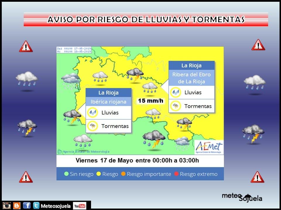 Días de tiempo frío, revuelto e inestable en La Rioja Alta 1