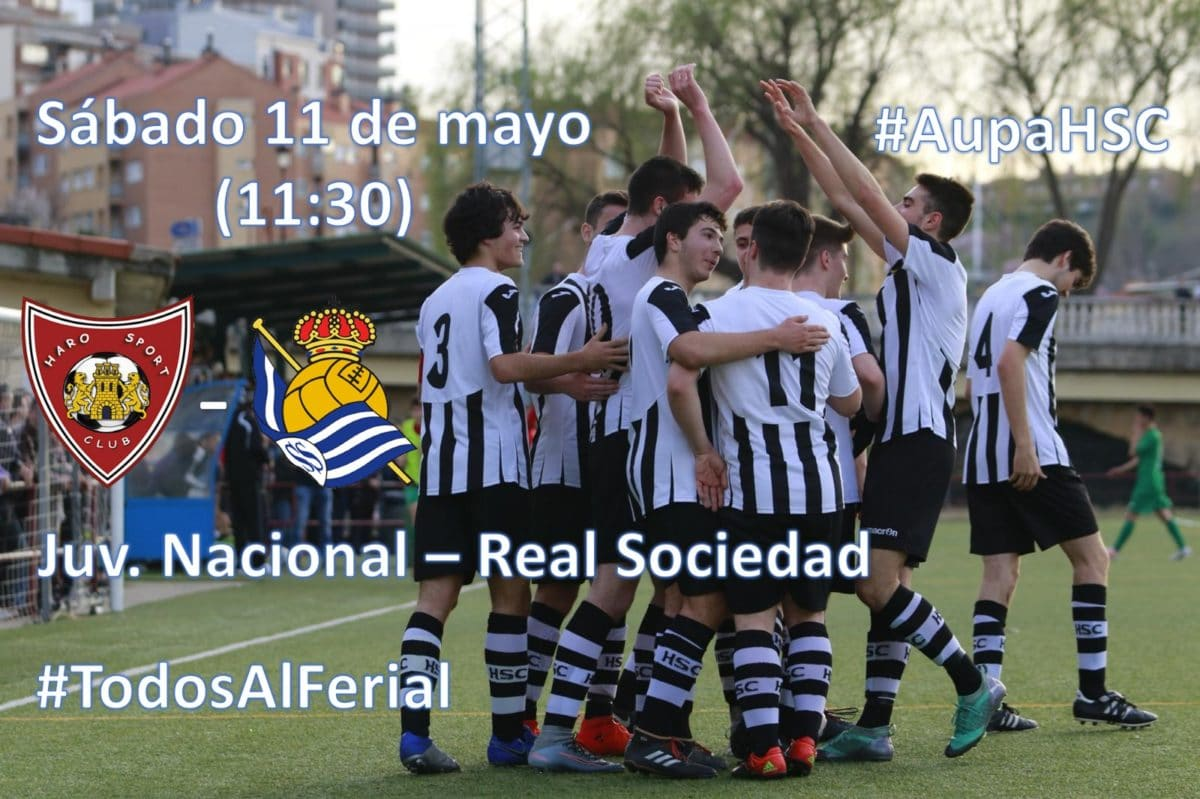 El Ferial acoge este sábado un amistoso entre el Haro Sport Club y la Real Sociedad 1