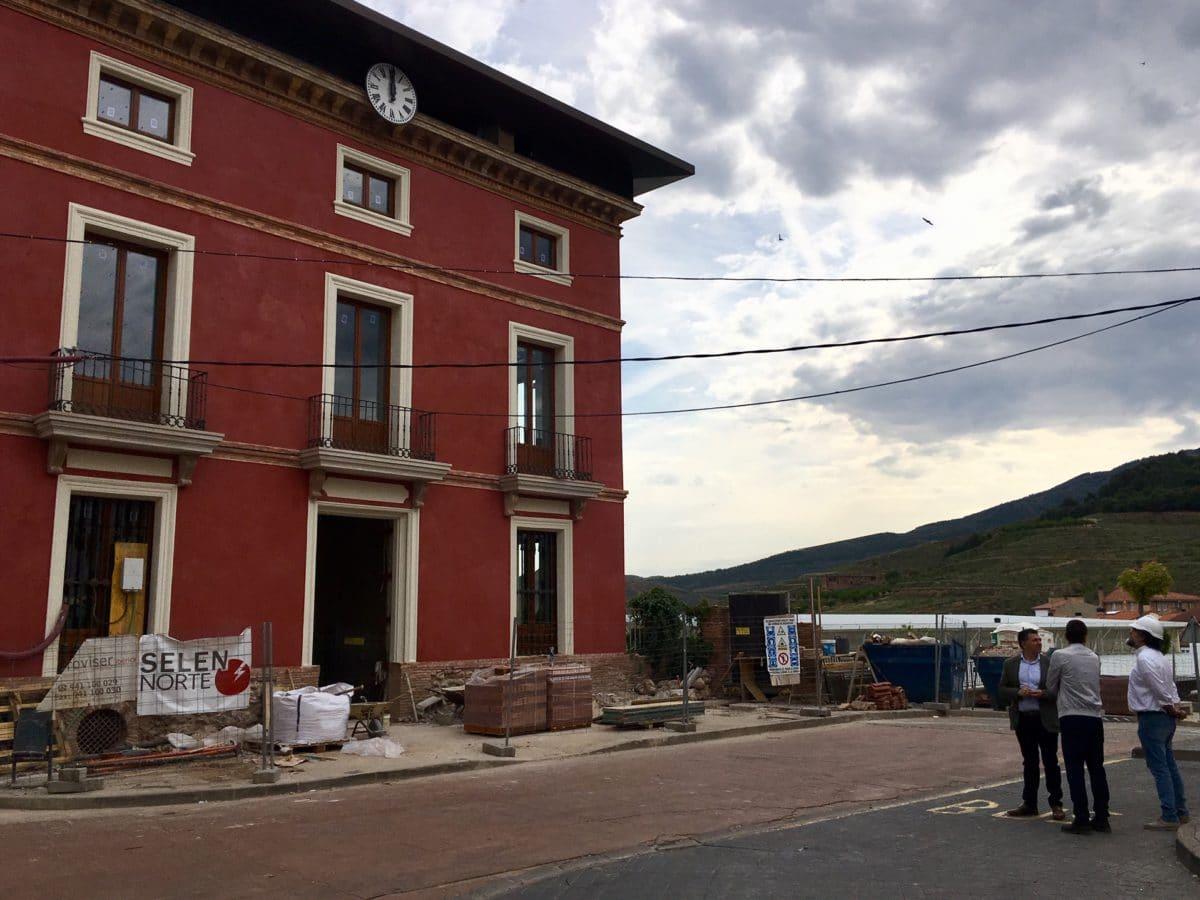 El Gobierno apoya el acondicionamiento del vial que comunica Cidamón con Casas Blancas 1
