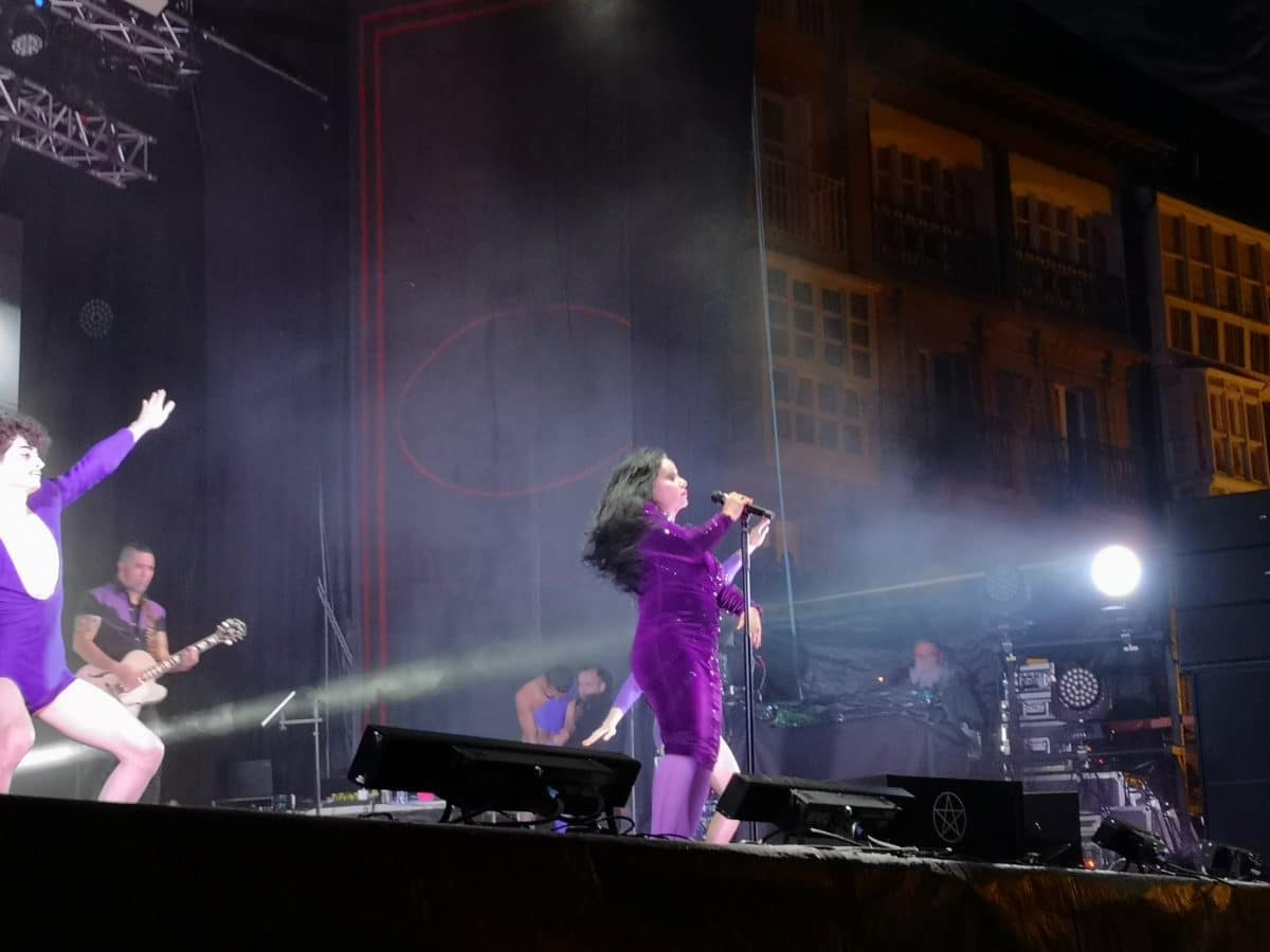 Éxito de público en el concierto de Fangoria en Haro 4