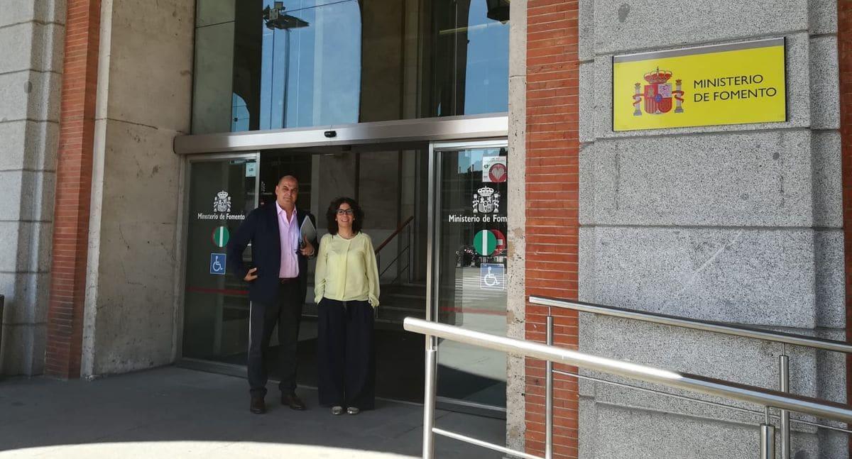 """Fomento confirma """"la buena evolución"""" de las obras de rehabilitación del María Díaz 1"""