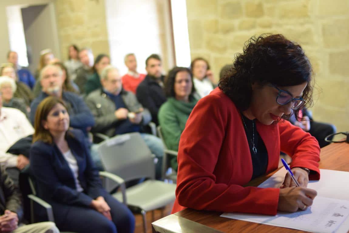 """Haro presenta su candidatura a Ciudad Europea del Vino: """"Un proyecto vivo y abierto"""" 14"""