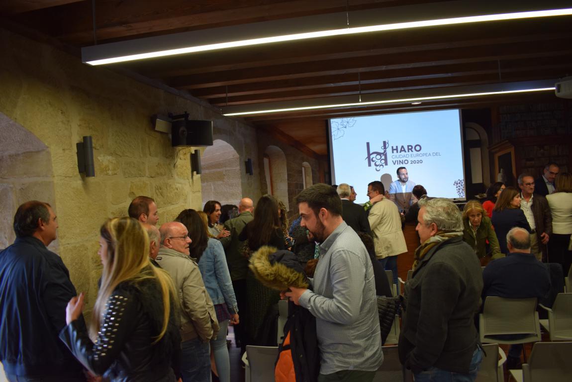 """Haro presenta su candidatura a Ciudad Europea del Vino: """"Un proyecto vivo y abierto"""" 18"""