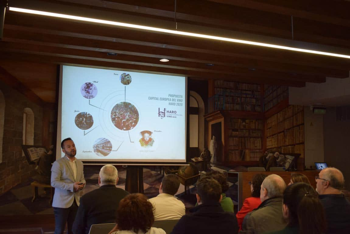 """Haro presenta su candidatura a Ciudad Europea del Vino: """"Un proyecto vivo y abierto"""" 1"""