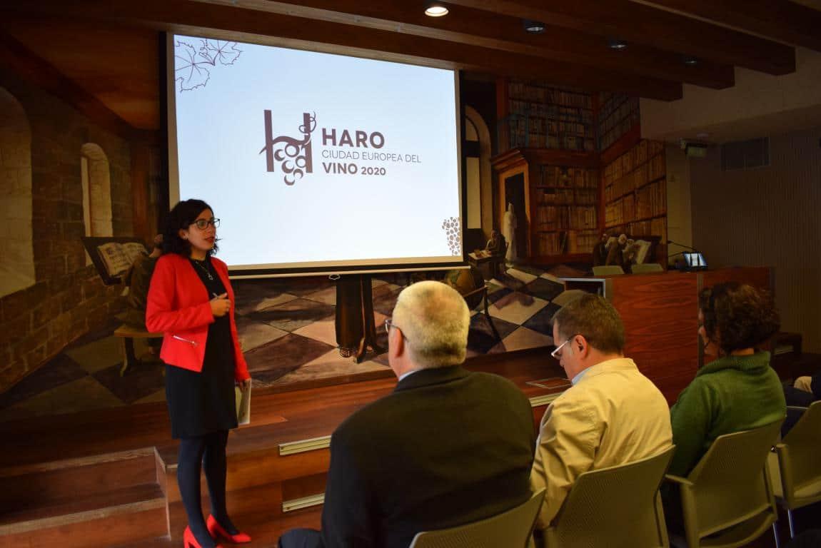 """Haro presenta su candidatura a Ciudad Europea del Vino: """"Un proyecto vivo y abierto"""" 2"""