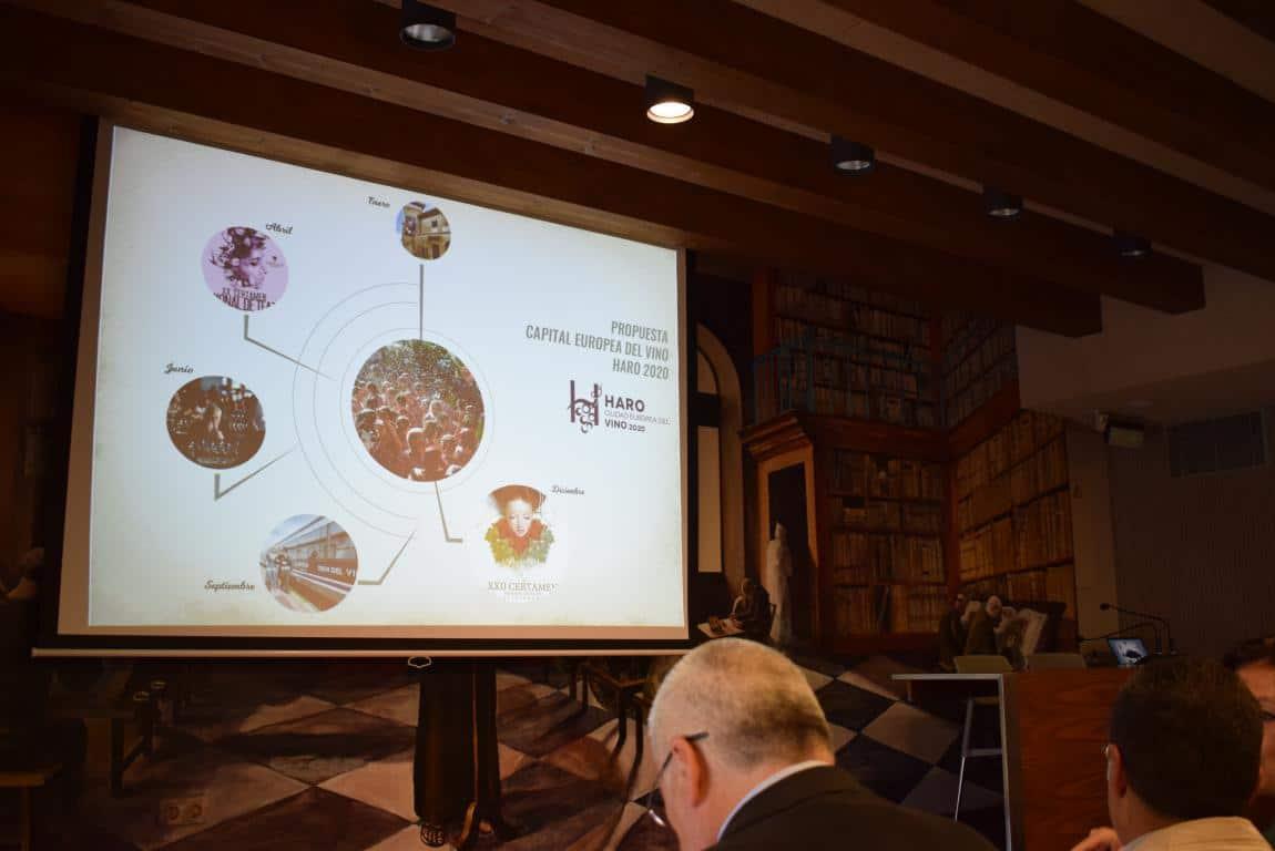 """Haro presenta su candidatura a Ciudad Europea del Vino: """"Un proyecto vivo y abierto"""" 7"""
