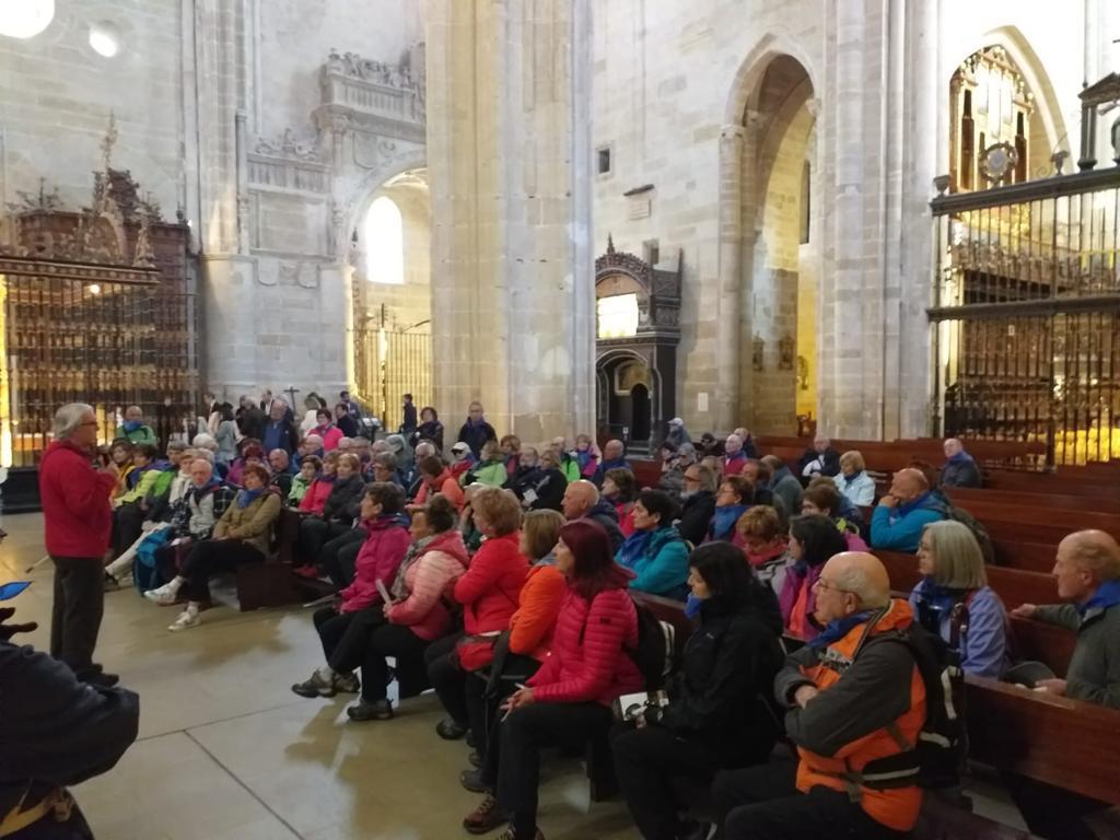 Jornada solidaria de los Amigos del Camino con la Cofradía del Santo por el Año Jubilar Calceatense 1