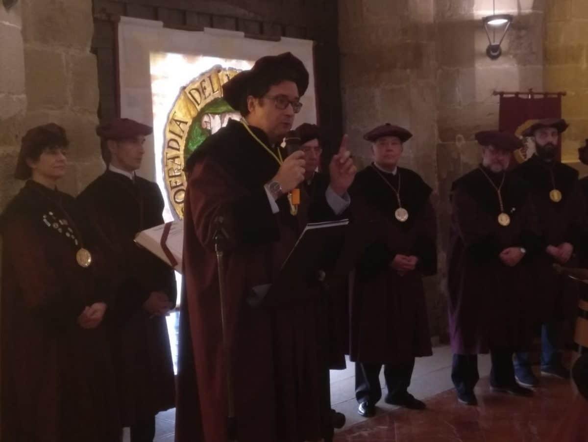 La Cofradía del Vino de Rioja nombra Cofrade de Honor a la Red de Paradores de España 3