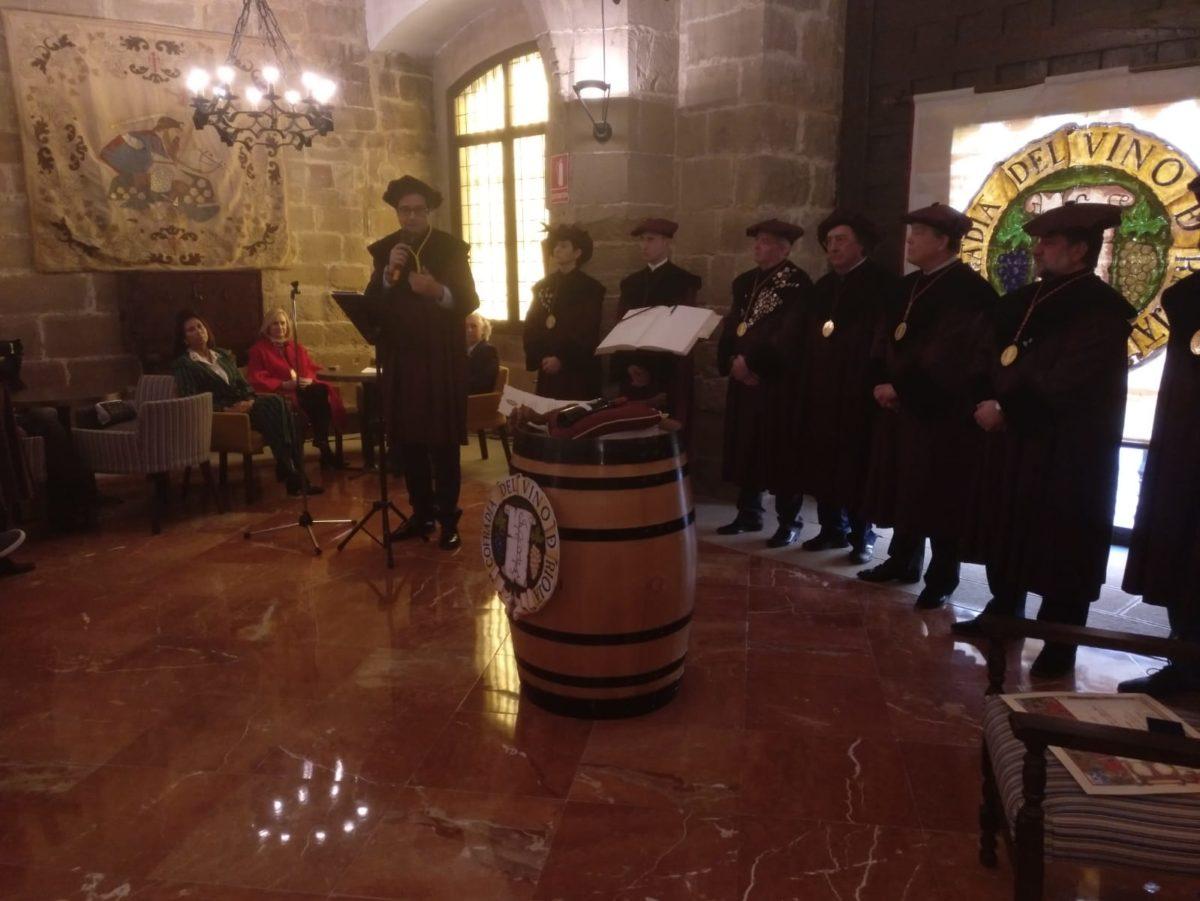 La Cofradía del Vino de Rioja nombra Cofrade de Honor a la Red de Paradores de España 4