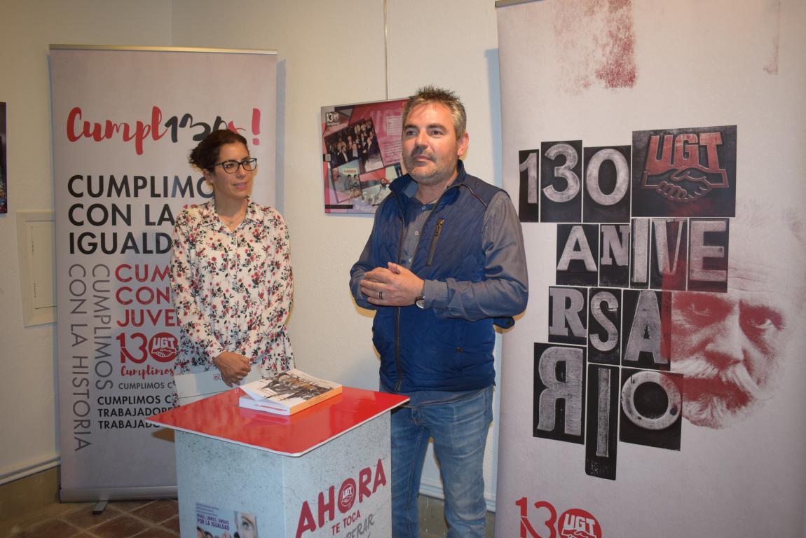 La exposición con motivo del 130 aniversario de UGT llega a Haro 2