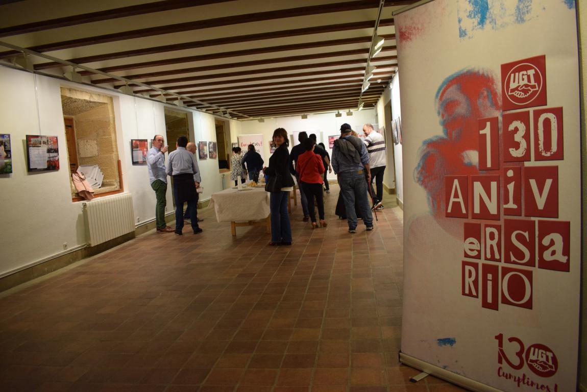 La exposición con motivo del 130 aniversario de UGT llega a Haro 4